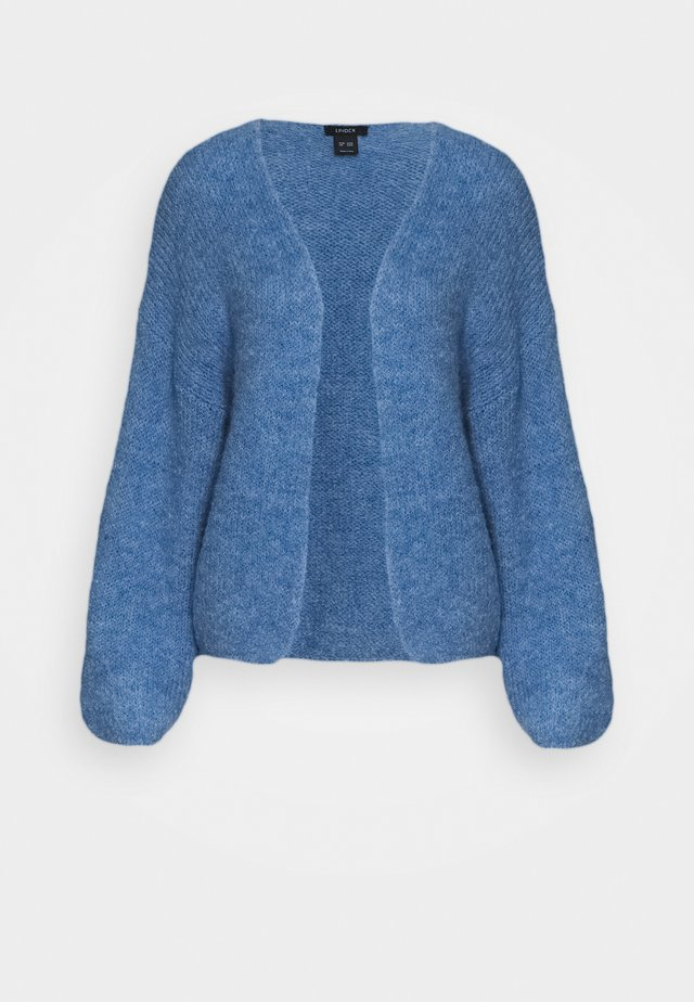 CARDIGAN VANESSA - Vest - light dusty blue