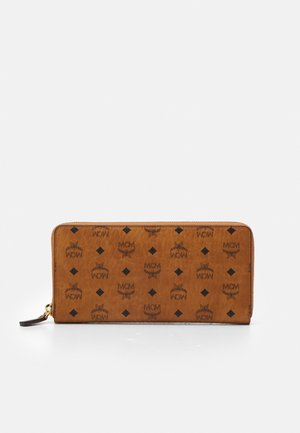 VISETOS ORIGINAL ZIPPED WALLET LARGE UNISEX - Wallet - cognac