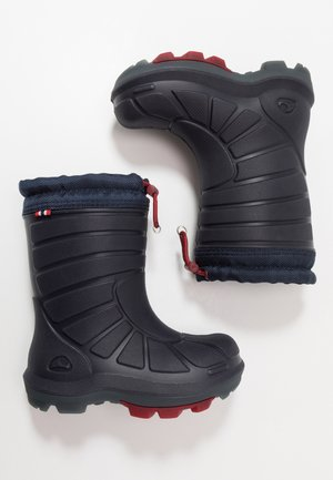 EXTREME - Botas de agua - navy/dark red