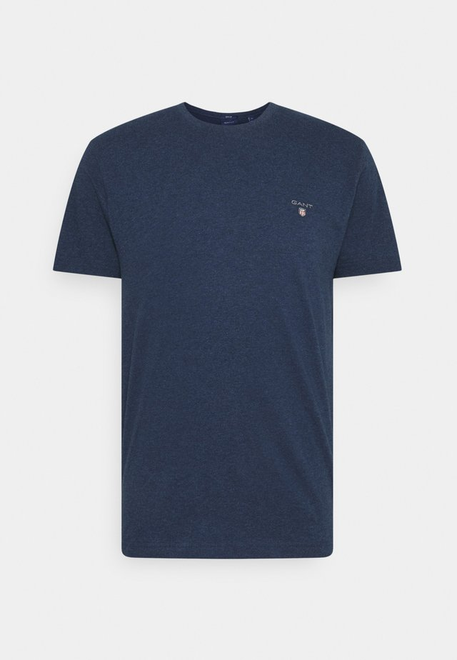 THE ORIGINAL - T-shirt basique - marine melange