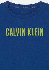 Calvin Klein Underwear - 2 PACK - Camiseta de pijama - black/chase blue - 3