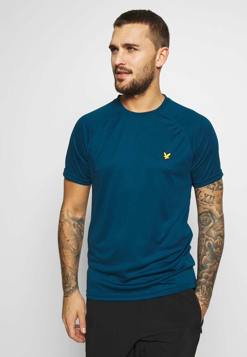 Lyle & Scott - CORE RAGLAN - T-shirt - bas - deep fjord