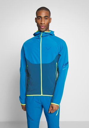 TRANSALPER - Outdoor jacket - mykonos blue
