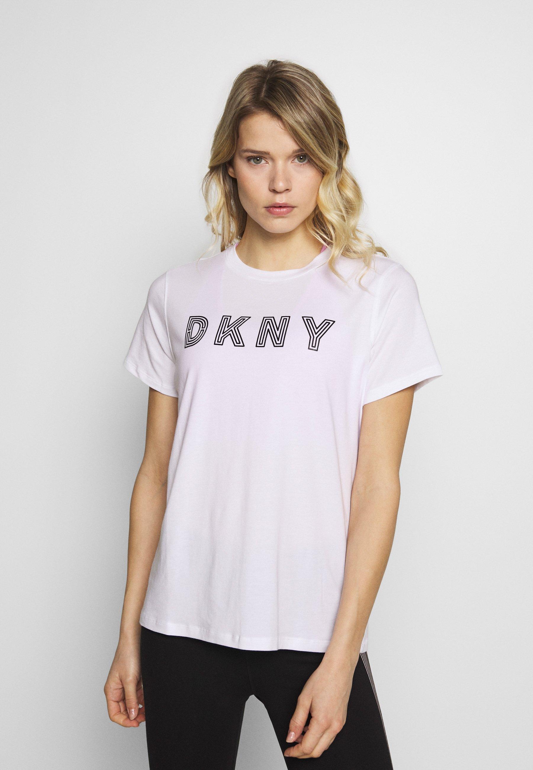 Femme TRACK LOGO - T-shirt imprimé