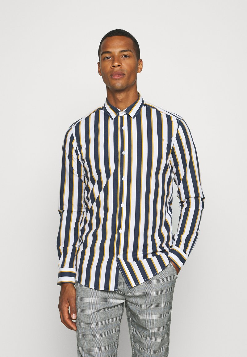 Only & Sons - ONSSANE STRIPED SLIM FIT - Shirt - blues
