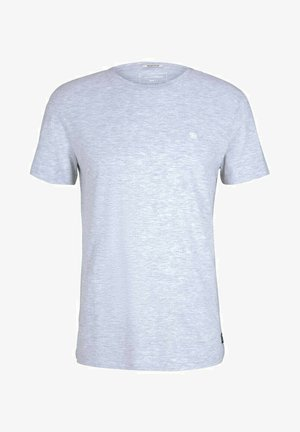 T-shirt basique - light stone grey melange