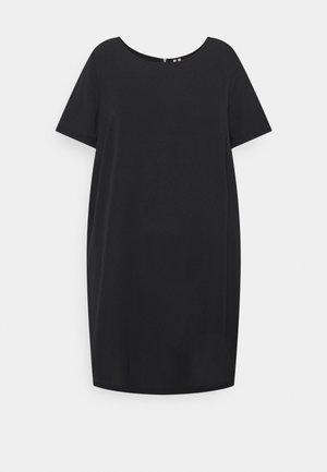 CARLUXMILA DRESS SOLID - Day dress - black