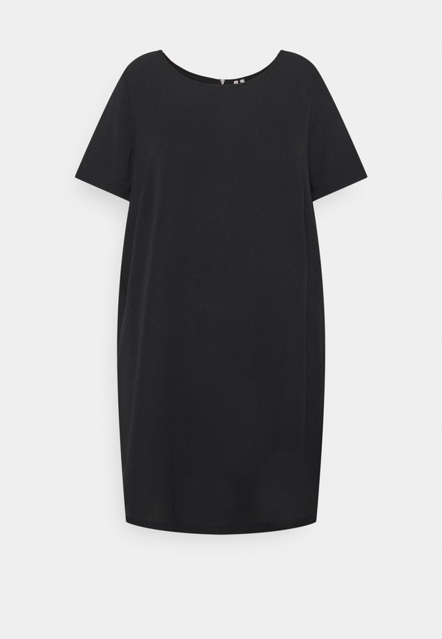 CARLUXMILA DRESS SOLID - Korte jurk - black