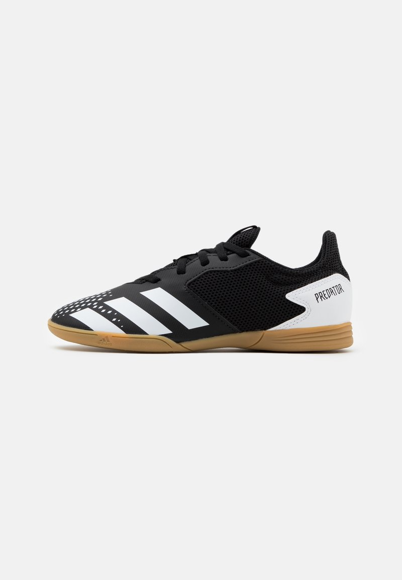 adidas Performance - PREDATOR 20.4 FOOTBALL SHOES INDOOR UNISEX - Botas de fútbol sin tacos - core black/footwear white