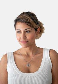 Heideman - WELTKUGEL GLOBUS - Necklace - silver-coloured - 1