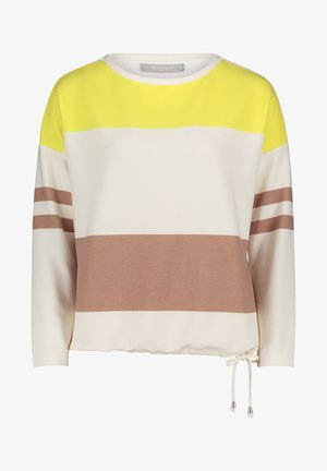 Sweatshirt - cream/yellow