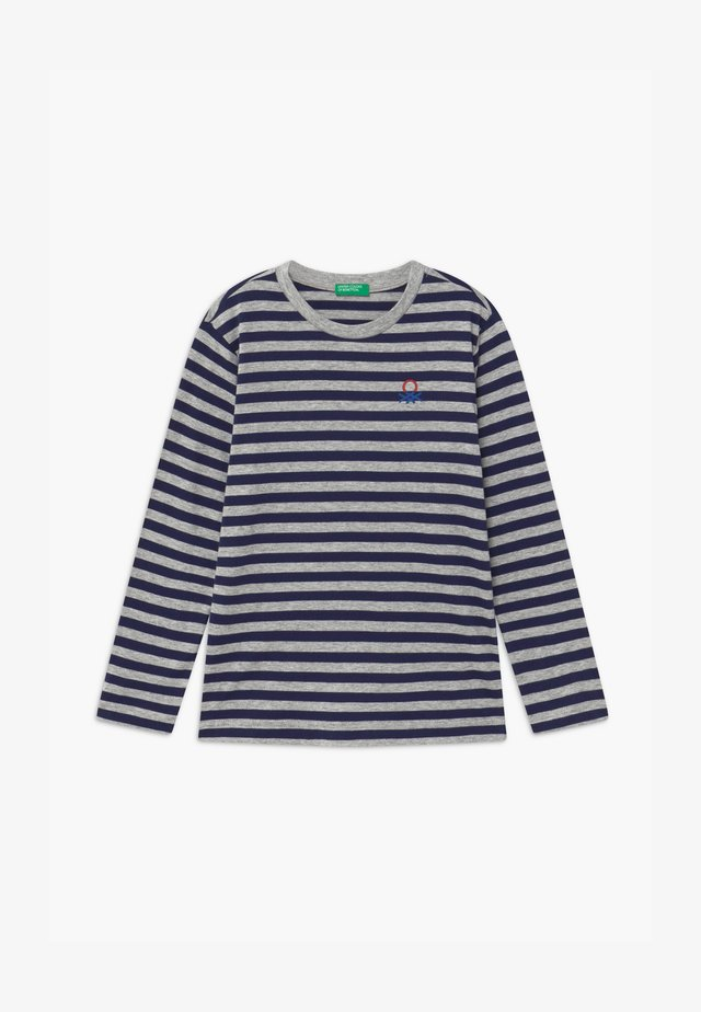 FUNZIONE BOY - Långärmad tröja - dark blue/grey