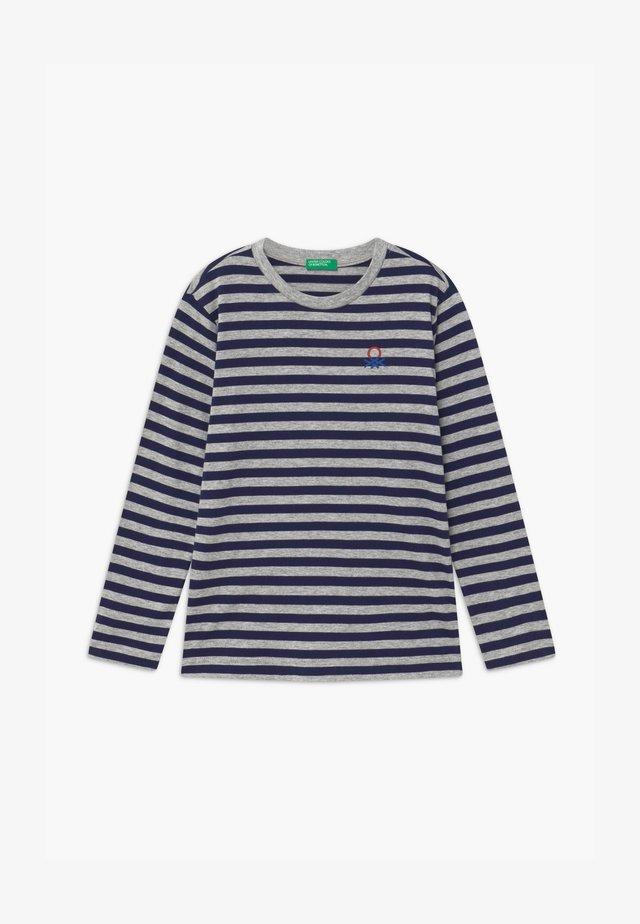 FUNZIONE BOY - Pitkähihainen paita - dark blue/grey