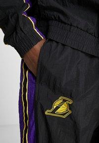 Nike Performance - NBA LA LAKERS RETRO TRACKSUIT - Pelipaita - black/field purple - 6