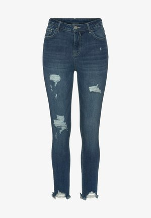 Slim fit jeans - dark blue washed