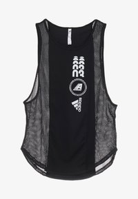 adidas Performance - CLIMACOOL WORKOUT GRAPHIC TANK - Linne - black - 3