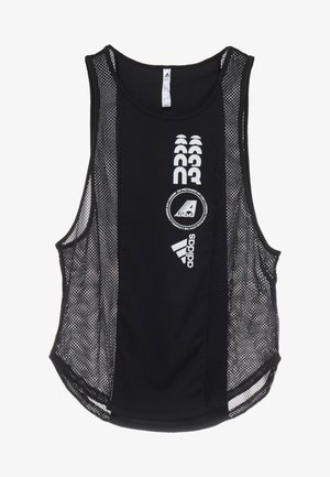 CLIMACOOL WORKOUT GRAPHIC TANK - Top - black
