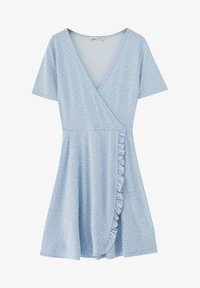PULL&BEAR - Day dress - light blue - 8