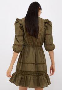 Liu Jo Jeans - Jersey dress - olive - 2