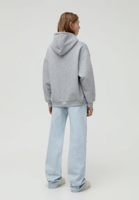 PULL&BEAR - Bluza z kapturem - dark grey - 2