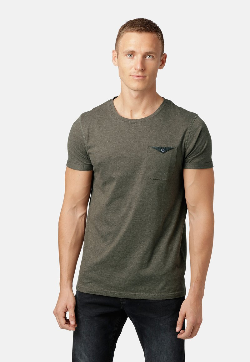 MARCUS - OTTAY  - T-shirts print - burnt olive