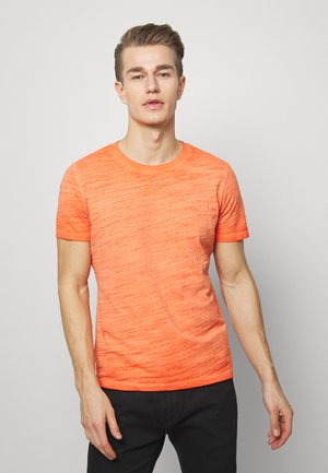 T-SHIRT KURZARM - Basic T-shirt - pop orange