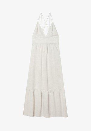 Maxi šaty - stone