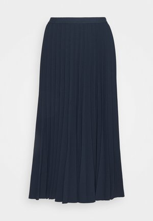 DAFFODIL PLEATED MIDI SKIRT - A-line skirt - total eclipse