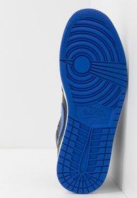 Jordan - AIR 1 MID - Zapatillas altas - black/hyper royal/white - 4