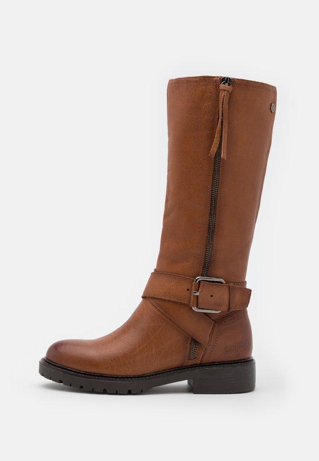 LADIES BOOTS  - Stivali texani / biker - camel
