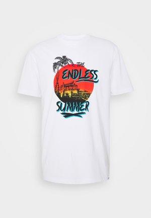 ONSELLIOT TEE  - T-shirt med print - bright white
