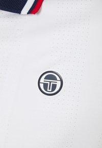 Sergio Tacchini - PARIS MAN - Polo shirt - blanc de blanc/blue depths - 2