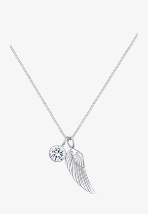 GLASS CRYSTAL - Ketting - silver-coloured