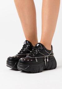 Koi Footwear - VEGAN JINX - Sneakers laag - black - 0