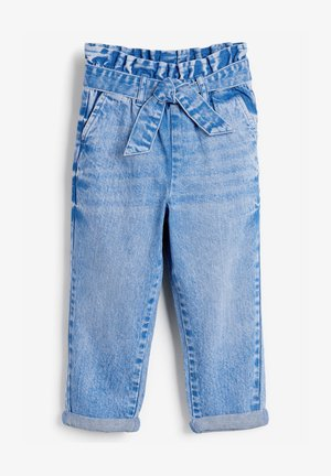 PAPERBAG WAIST TIE JEANS  - Relaxed fit jeans - blue
