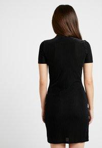 Noisy May Petite - NMNONA MINI DRESS - Shift dress - black - 3