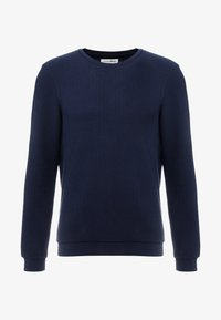 TOM TAILOR DENIM - STRUCTURE CREWNECK - Sweatshirt - sky captain blue - 4