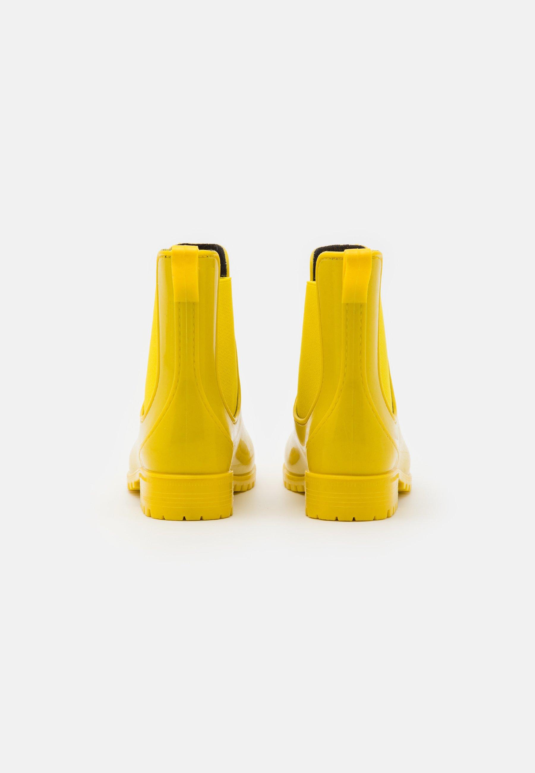 Anna Field Gummistøvler - Yellow/gul