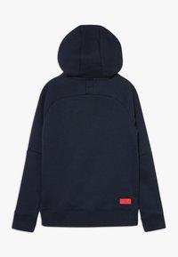 Nike Performance - FRANKREICH FFF HOOD - Oblečení národního týmu - dark obsidian - 1