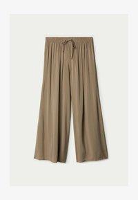 Tezenis - CULOTTE AUS LEICHTEM STOFF - Trousers - mud - 4