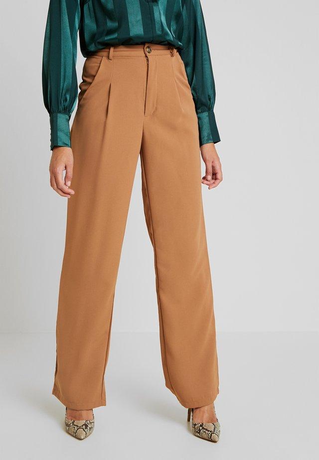 PANT - Spodnie materiałowe - tan