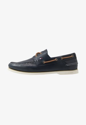 CLASSIC BOATSHOE - Boat shoes - blue