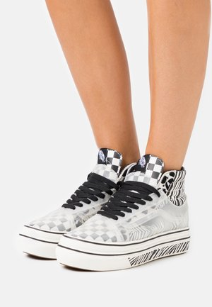 SUPER COMFYCUSH SK8 SKOOL - Høye joggesko - marshmallow/black