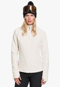 Roxy - MIT REISSVERSCHLUSS  - Fleece jacket - angora - 0