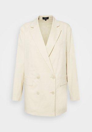 PIAZZA - Halflange jas - light linen