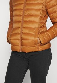 Vila - VISIBIRIA SHORT JACKET - Light jacket - pumpkin spice - 5