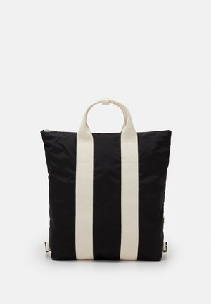 TOTE BACKPACK UNISEX - Rucksack - black