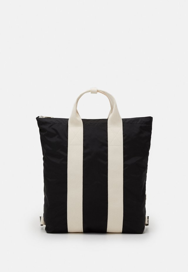 TOTE BACKPACK UNISEX - Rugzak - black