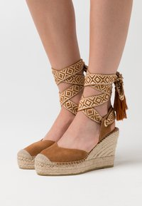 Vidorreta - High heeled sandals - camel - 0