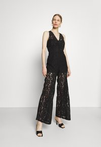 Guess - RACHAEL OVERALL - Jumpsuit - jet black - 1